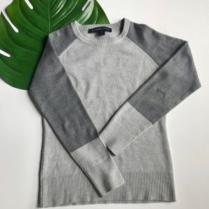 FRENCH CONNECTION gray sweater. Sz small